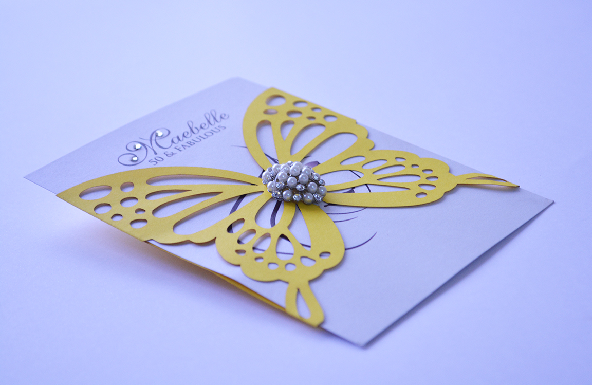 Laser Cut Invitation by Talata