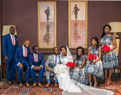Weddings in Ghana - Harriet and William