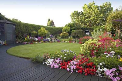 Flower Garden Landscape - Green Future Construction