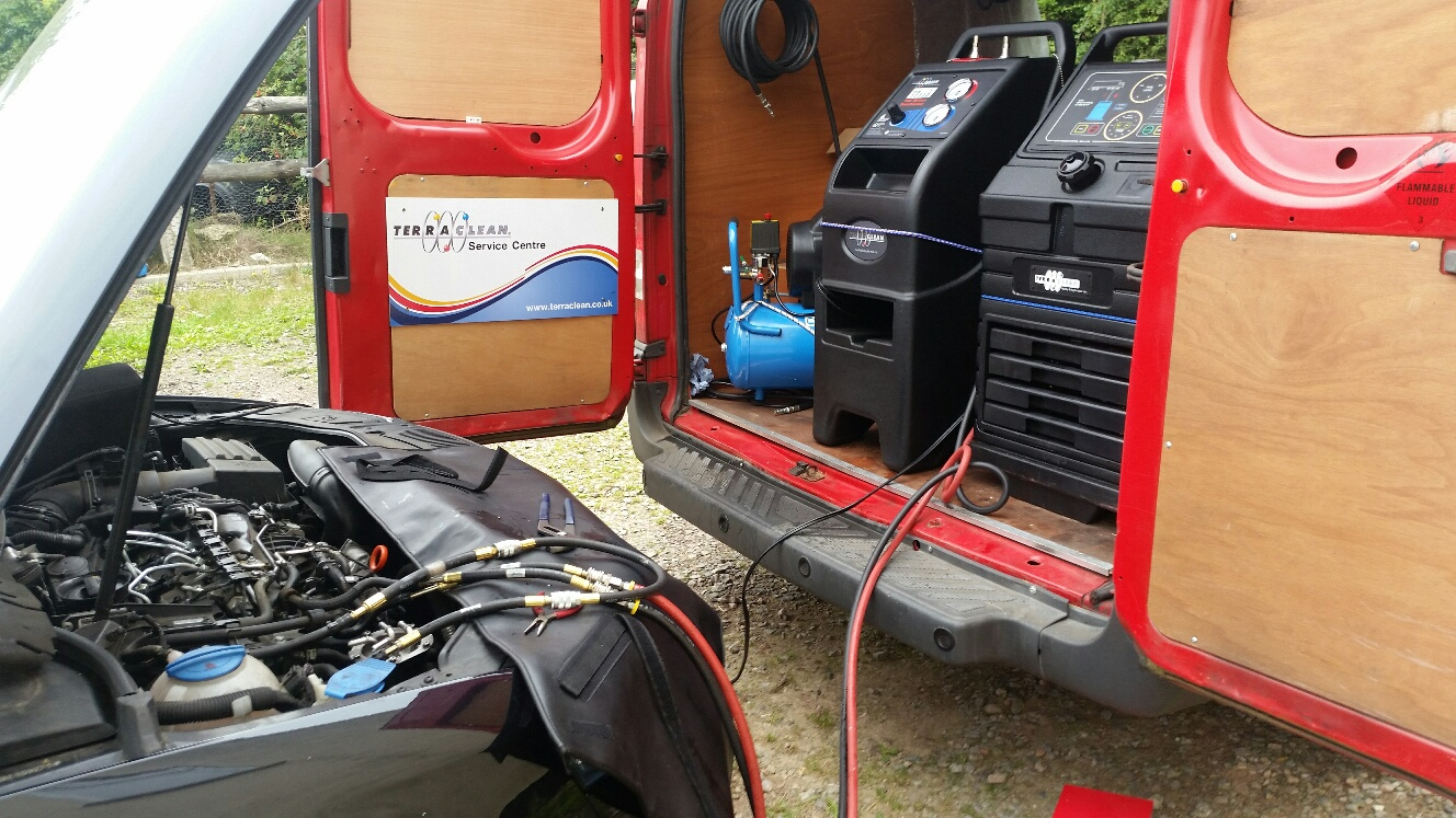 Terraclean in progress - Essex, Kent & London