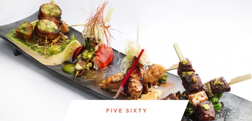 Five Sixty restaurant catering and private event space
