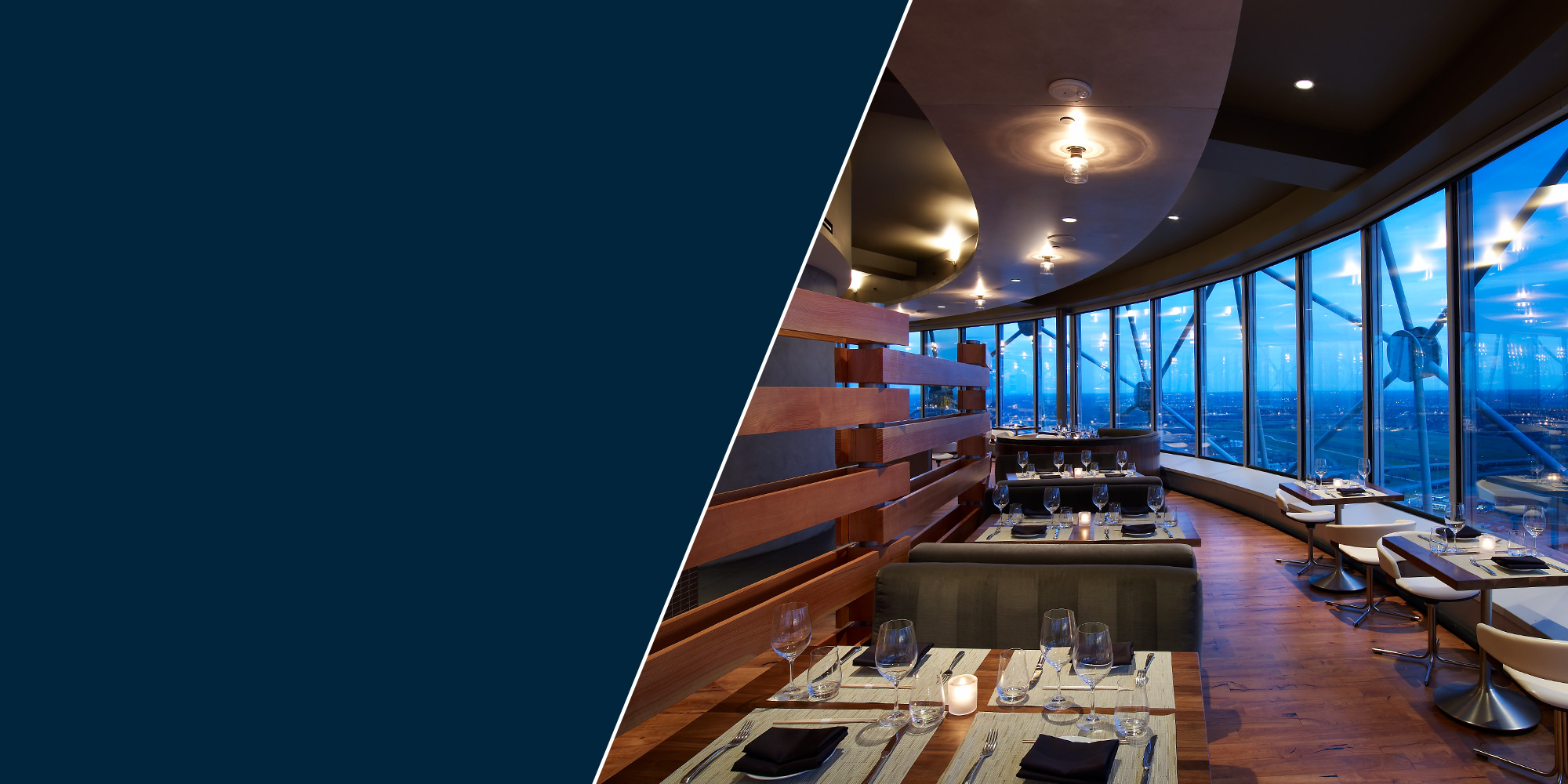Unique event space for private dinner parties