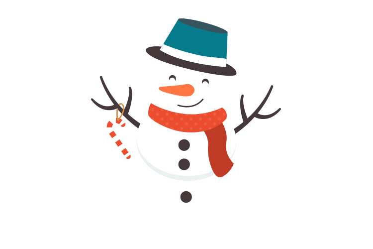 Snowman for decoration on http://laserforum.nl