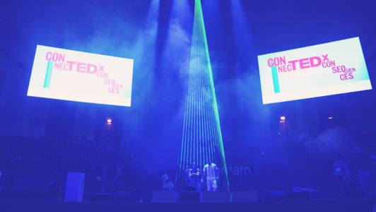 In coorperation with Justen Beer we created an experimental act exclusively for TEDx in Amsterdam. In addition to the 600 invited guests at the Concertgebouw an average of 4.000.000 people saw the act on the livestream. The perfomers overwhelmed the audience with their flawless execution