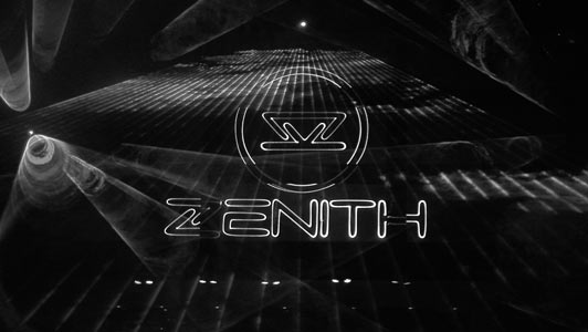 Installed a complete state-of-the-art- laser system for  the former biggest discotheque of the Benulux called the Zenith in Venray (NL).