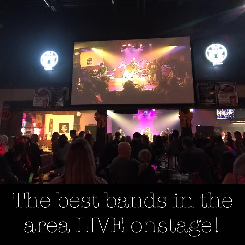 The best bands LIVE on stage | Blackstone Irish Pub
