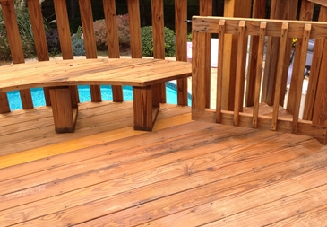 We restore and waterproof decks