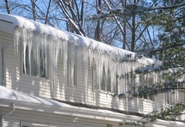 Get rid of ice dams before they harm your home and cause injury