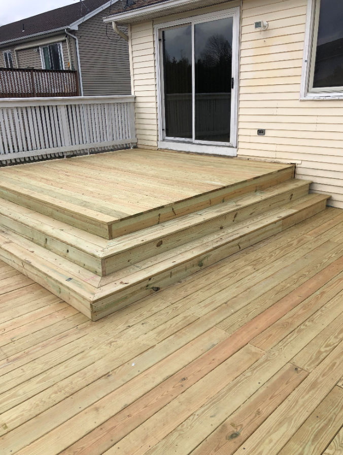 Take back your deck with our help at Pal's Power Washing