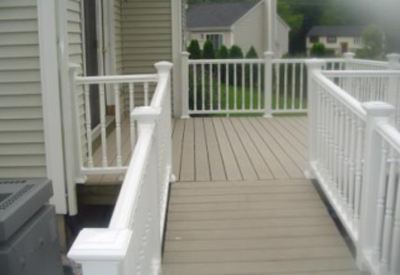 Commercial deck services are available for condos, hotels and restaurants