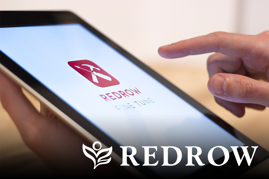 The Fine Tune app developed for Redrow, by the Future Customer.