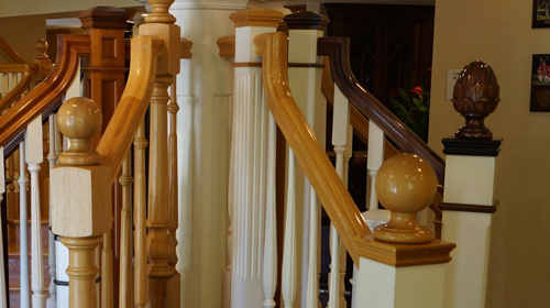 It Can Add A Certain Character To Your Creation. A Hand Carved Finial Can  Be The Eye Catching Exclamation Point To The Statement That Your Stairway  Makes.