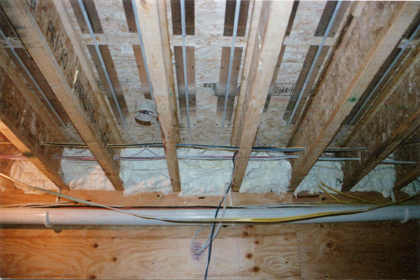 Chiarillo's installs under-floor radiant heating systems