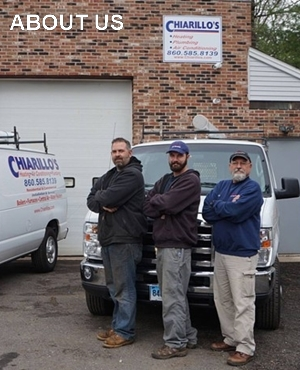 Chiarillo's Heating and Air Conditioning Team Photo
