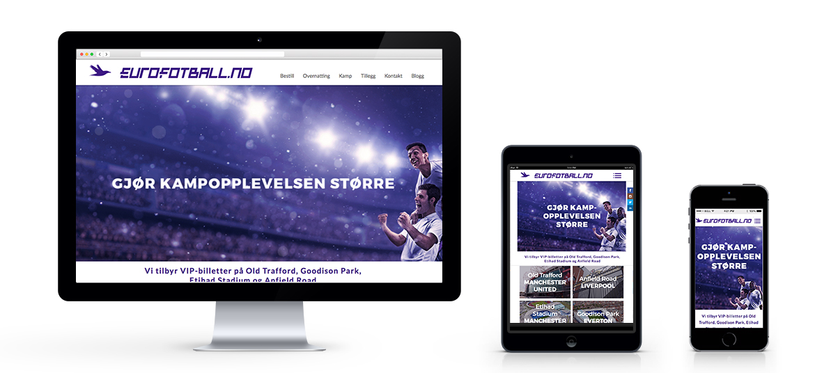 Eurofotball website