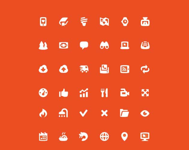 Thick Icon Set