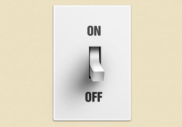 Old School Light Switch/Button