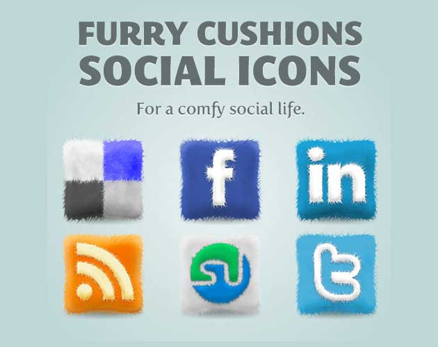 Fluffed Up Icon Set
