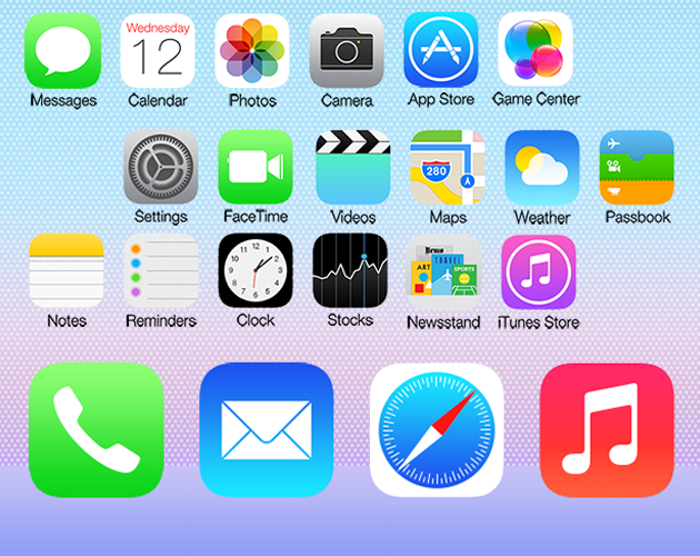 Leap Forward Springboard for iOS 7