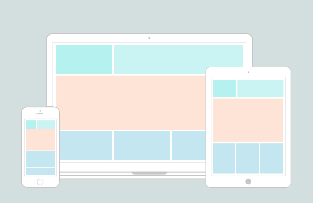 Responsive Website Wireframe