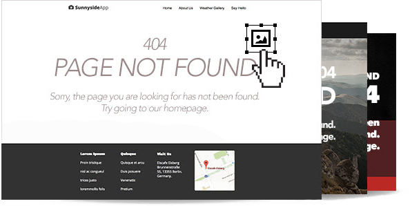 Custom Design Your Own 404 Pages.