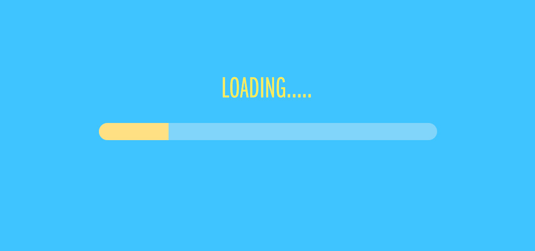 Website loading speed icon