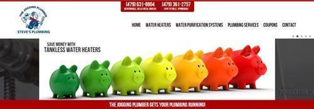 Steve's Plumbing uses a stock images that can be found all over the web