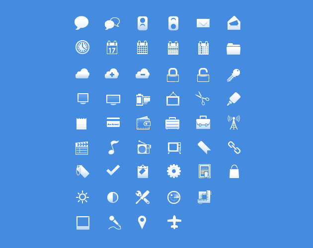 Tools 'n' Things PSD Icon Set