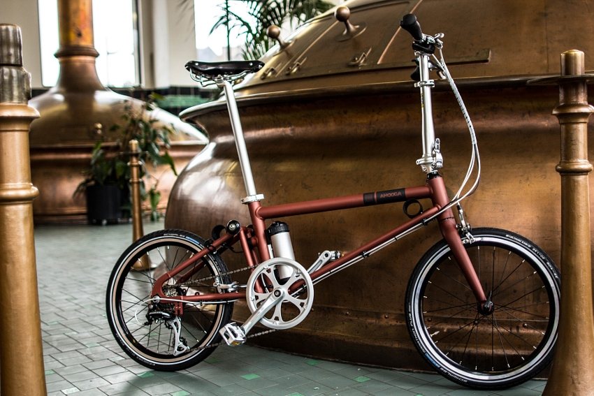 Ahooga Hybrid Bike / Style+ / Wow Copper