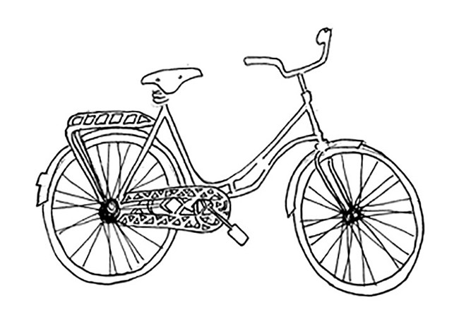 Bicycle inkdraw