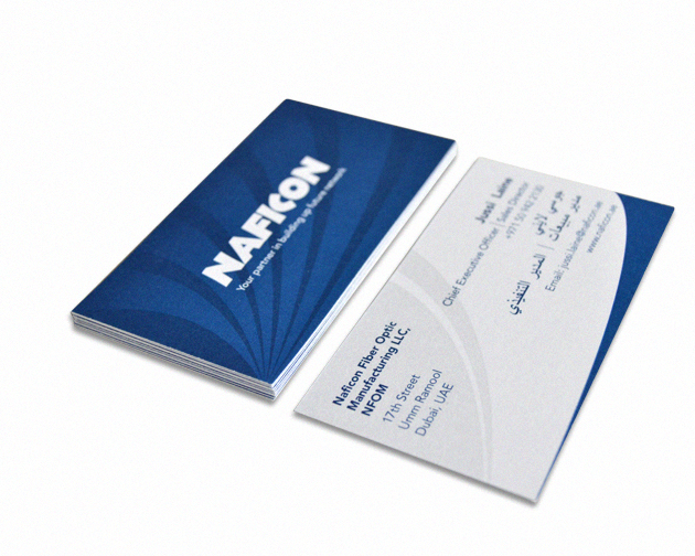 Naficon Business Cards