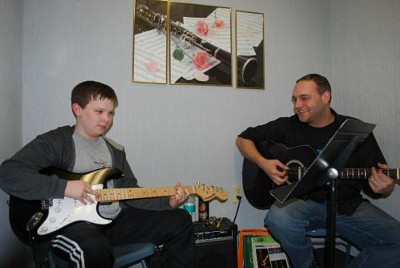 Guitar lessons are fun at the Music Shop in Southington CT