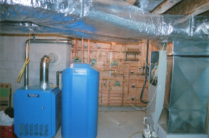 Radiant heating systems don't force hot air