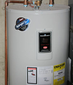 Plumbers are hot water heater experts, too