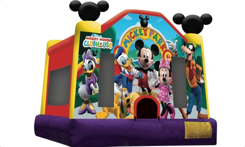 Mickey Park Jumping Castle