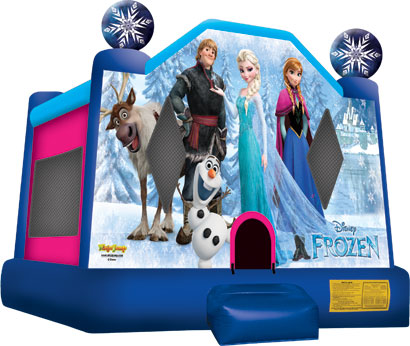 Disney's Frozen jumping castle