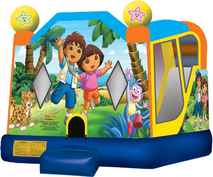 Dora and Diego Jumping castle